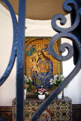 El Santuario de La Cinta, blindado