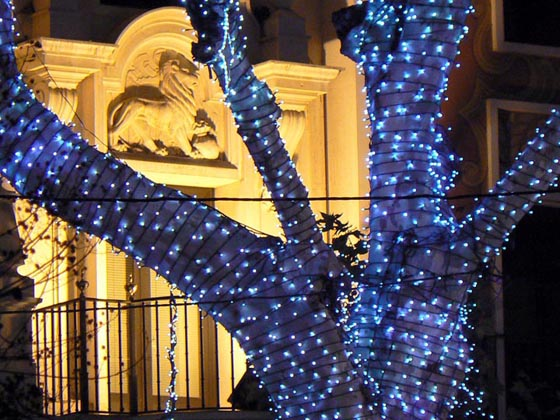 La Plaza Nueva en Navidad
