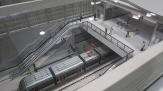 Las cocheras del Metro