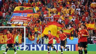 Las mejores imágenes del España-Rusia (4-1)