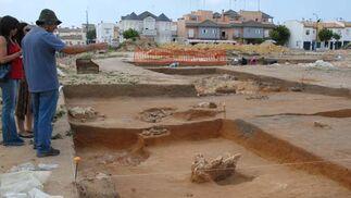 Yacimiento arqueológico en San Fernando