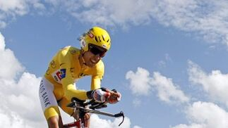 Carlos Sastre, virtual vencedor del Tour de Francia