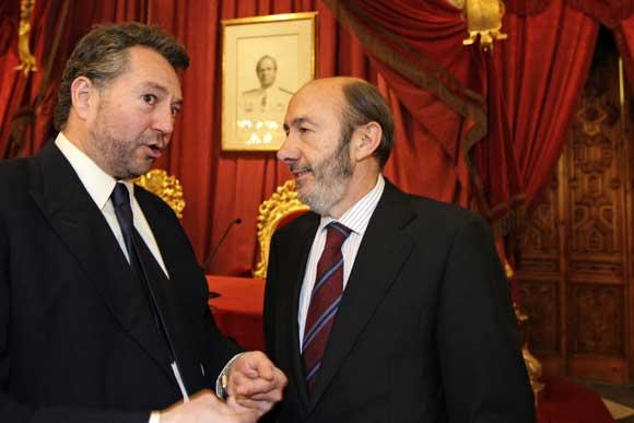 Ildefonso Marqués recibe la Medalla del Trabajo