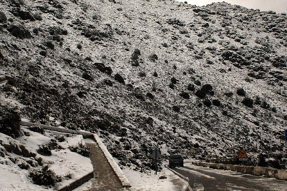Primeras nieves en la provincia