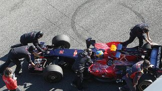 Segunda jornada de test en el Circuito