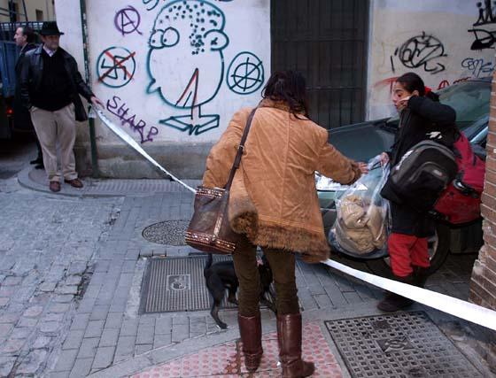 Desalojo de okupas en el centro de Granada
