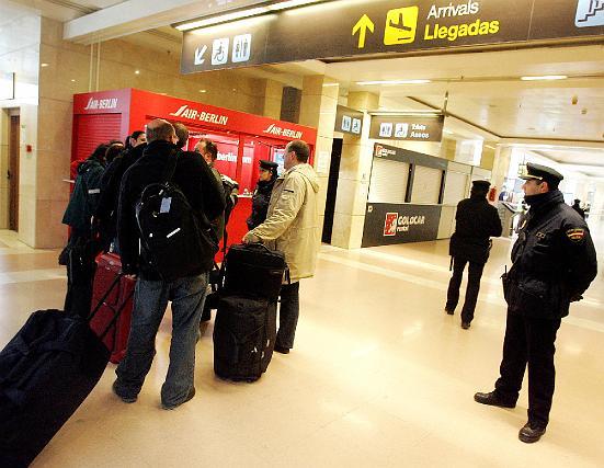 Alarma de bomba en el aeropuerto