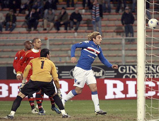 Sampdoria-Sevilla (1-0): Jugó con fuego y se quemó