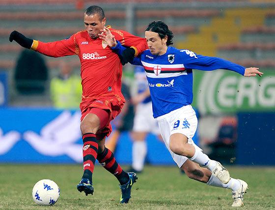 Las imágenes del Sampdoria-Sevilla (1-0)