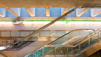 Las imágenes del Metro a 20 de diciembre
