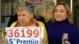 Sevilla es agraciada en la Lotería de Navidad con dos 5º premios