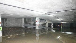 Efectos del temporal en Algeciras