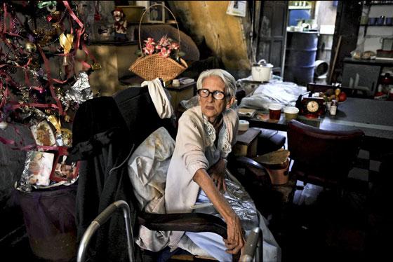 Dulce María Arranz, de 85 años de edad, ayudante de FIdel Castro durante la revolución cubana.