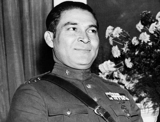 10 de marzo de 1952. Imagen del dictador cubano Fulgencio Batista.