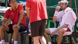 El equipo español se prepara ya en la Plaza de Toros de Puerto Banús en Marbella para disputar el torneo que comenzará este fin de semana  Foto: EFE/Jorge Zapata