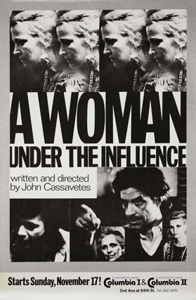 A woman under the influence. V.O.S. Auditorio Eduardo Ocón. 11 agosto. 22:15 horas