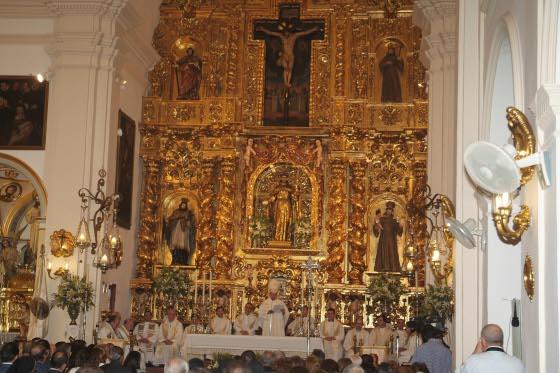 Juan José Asenjo destacó la labor evangelizadora de San Francisco Solano en gran parte del mundo  Foto: Rafael Salido