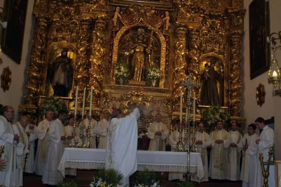 La misa pontificial ha marcado el inicio del año jubilar  Foto: Rafael Salido