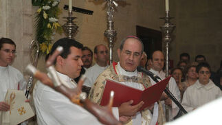 El papa Benedicto XVI concedió el Año Jubilar atendiendo la petición que cursó ante la Santa Sede Juan José Asenjo el pasado mes de septiembre  Foto: Rafael Salido