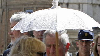 La Duquesa de Cornualles.  Foto: Eduardo Abad (EFE)