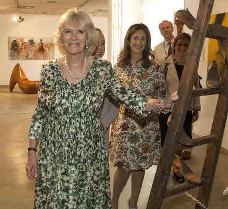 Uno de los momentos de la visita al Museo.  Foto: Manuel Gómez