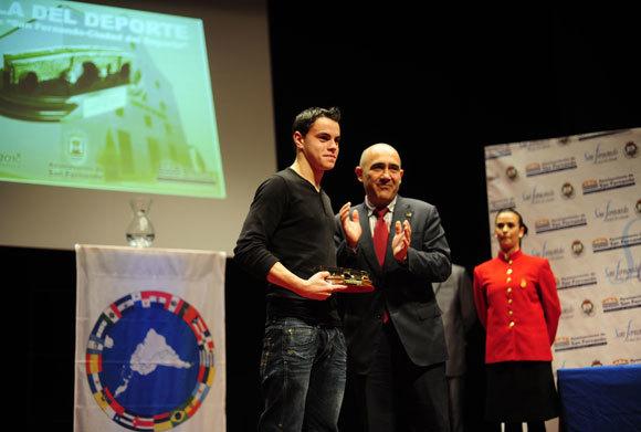 Manuel J. Ramírez, mejor deportista masculino.  Foto: Elias Pimentel