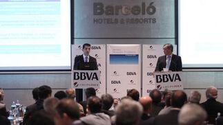 Rafael Doménech, economista jefe para Economías Desarrolladas de BBVA Research, en el hotel Barceló de Málaga.  Foto: Javier Albiñana