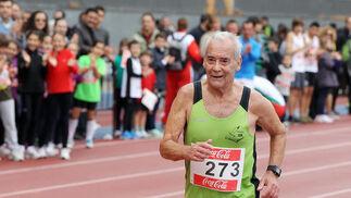Pedro Rizo Pérez, nacido en 1935, fue el participante más veterano.  Foto: Miguel Angel Gonzalez