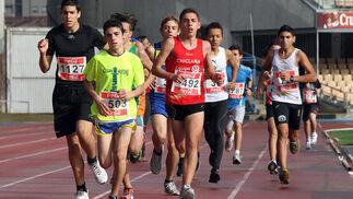 Ruiz (492) venció en juvenil y Cordero (1127) fue segundo.  Foto: Miguel Angel Gonzalez