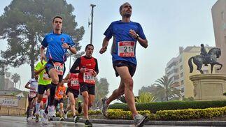 Con casi dos mil inscritos, un total de 652 corredores de la carrera reina llegaron a la meta  Foto: Miguel Angel Gonzalez