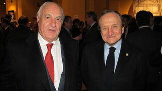 Juan Ramón Guillén (Grupo Acesur) y Augusto Jannone (Jannone Grupo).  Foto: Victoria Ramírez
