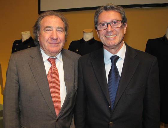 Manuel Muñoz, presidente de Guadarte y Manuel Bellido, director general de Agenda de la Empresa.   Foto: Victoria Ramírez