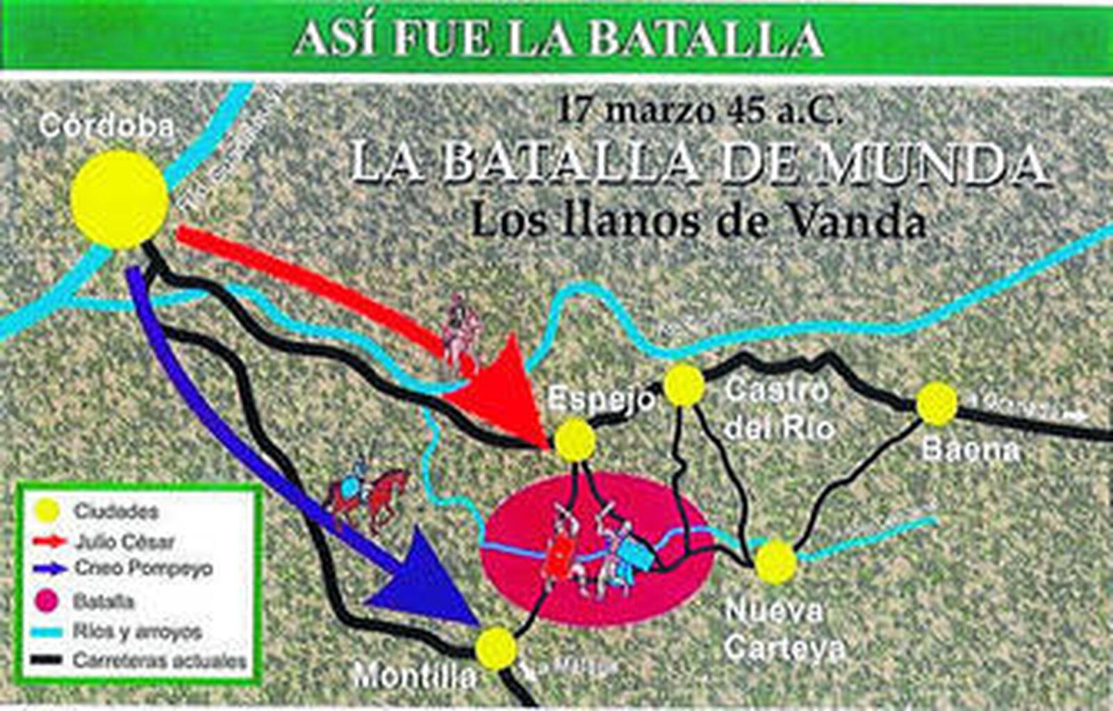 Resultado de imagen de BATALLA DE MUNDA