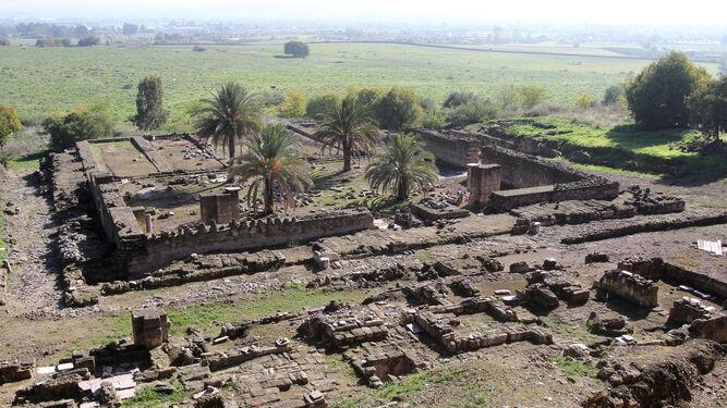 Palacio. Restos de Medina Azahara, a las afuera de la capital cordobesa.