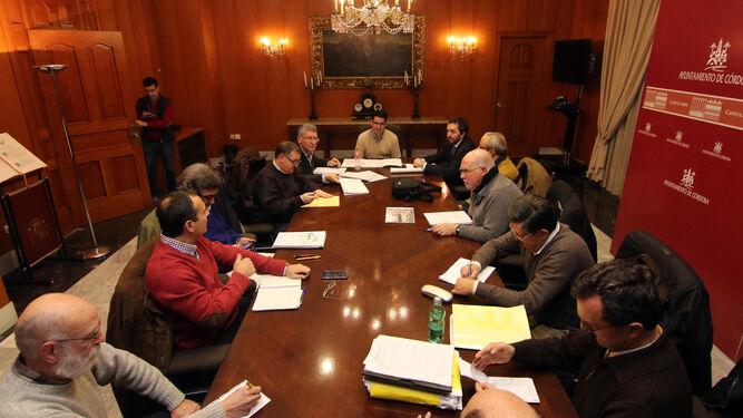 Reunión de la Mesa de Veladores que ha tenido lugar esta semana en Capitulares.