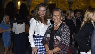 Marita Rufino y Enriqueta Vila.