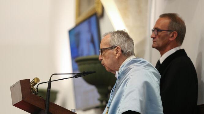 García Baena, en su intervención.