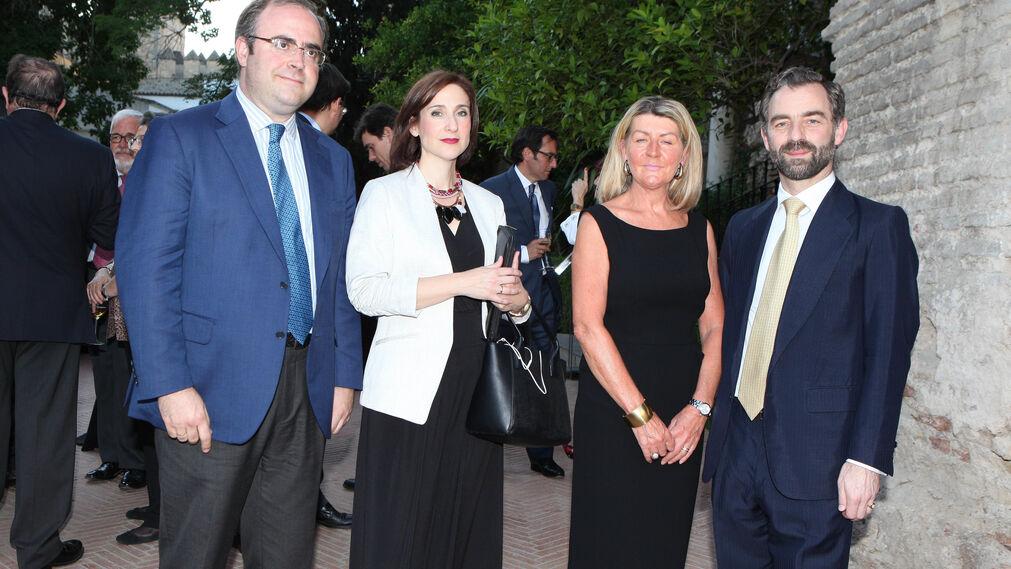 Carlos Navarro, Carmen González, Pauline Bullen y Luis Rey Goñi.