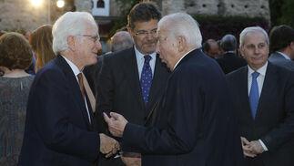 Rafael Atienza, Rafael Catalá y Manuel Olivencia.