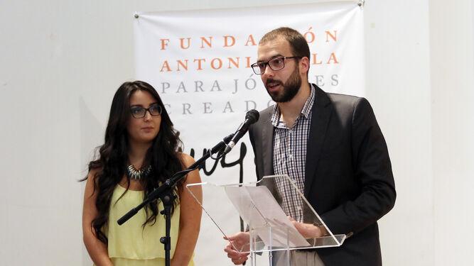 Louiza Ajouau y Sergio Navarro.