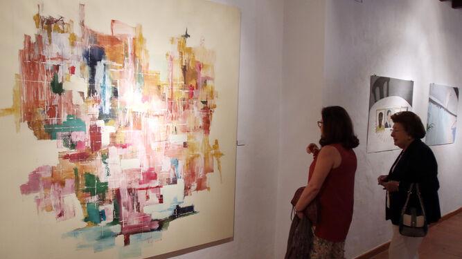La exposición visitable en el centro desde ayer.