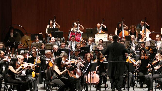 La Orquesta de Córdoba, en un concierto de este año.