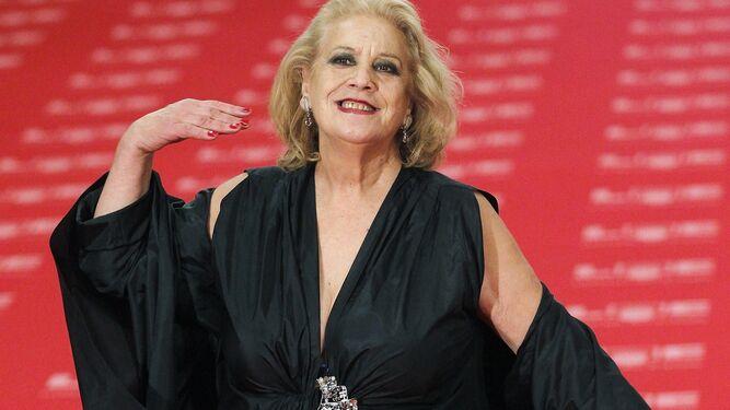 Terele Pávez, en los Goya de 2011.