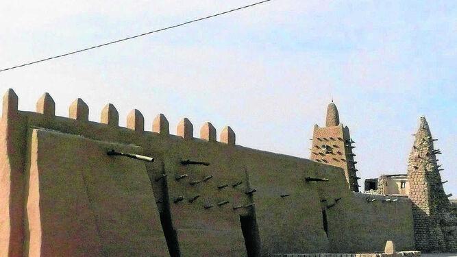 Mezquita de Djingareyber en Tombuctú.