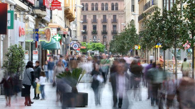 Vista de la céntrica calle Cruz Conde.
