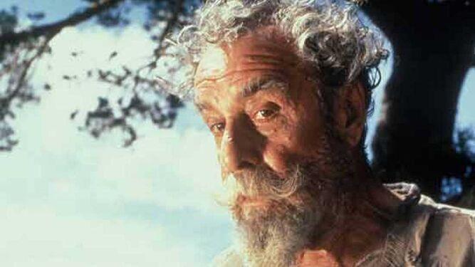 Como Don Quijote en la serie de televisión (1992) de Manuel Gutiérrez Aragón.