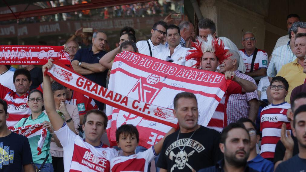 Las imágenes del Granada-Córdoba