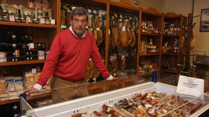 Agustín González Sánchez, presidente de la cooperativa ganadera Ovipor, de Huelva.
