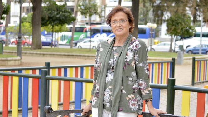 María Teresa León, voluntaria testimonial.