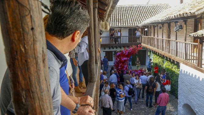 Detalle de 'Duende', obra ganadora del certamen que puede verse en la Posada del Potro.